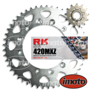 Chain & Sprocket Kit KAWASAKI KX100 1989-2005